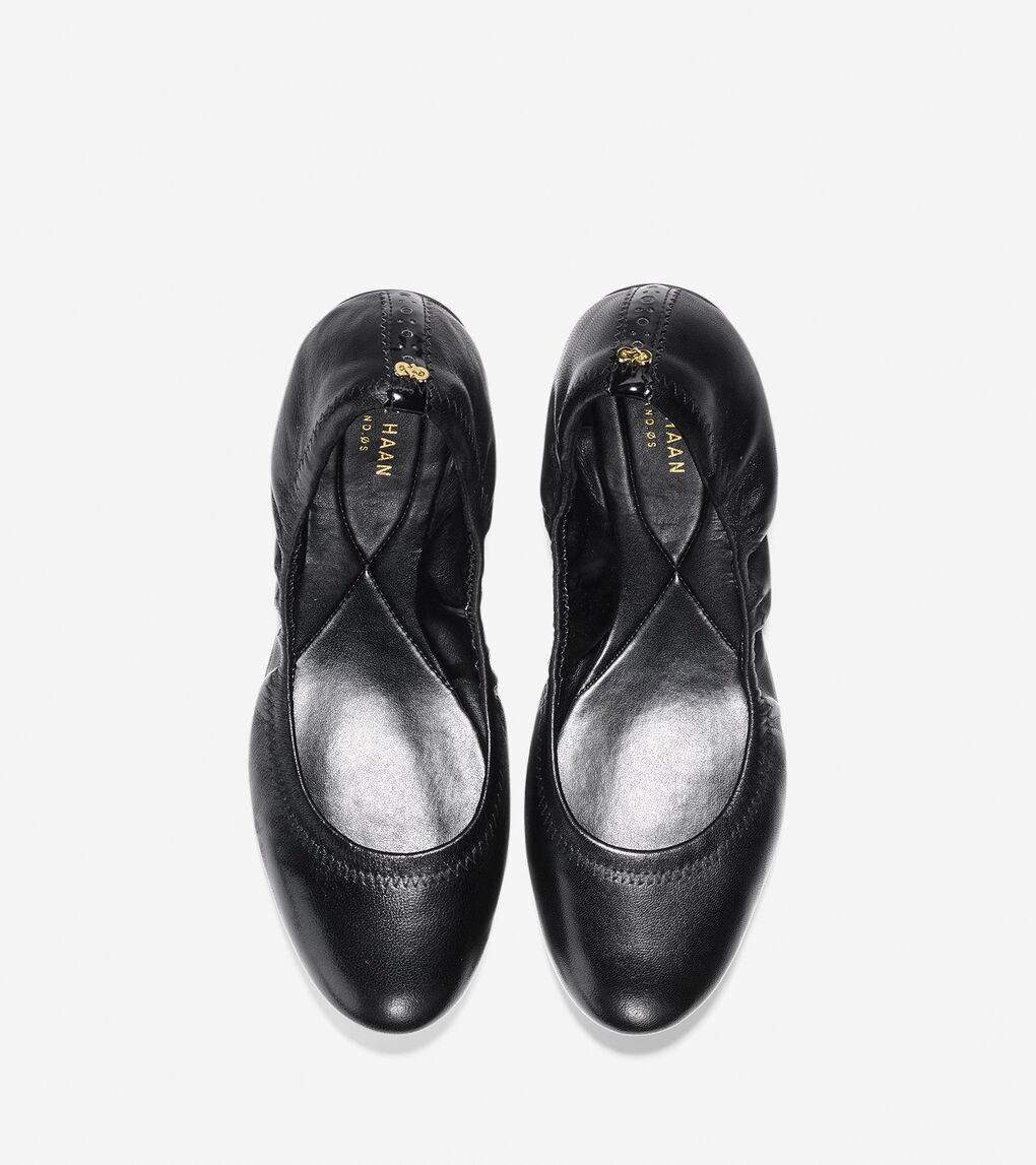 Womens ZERØGRAND Ballet Flat