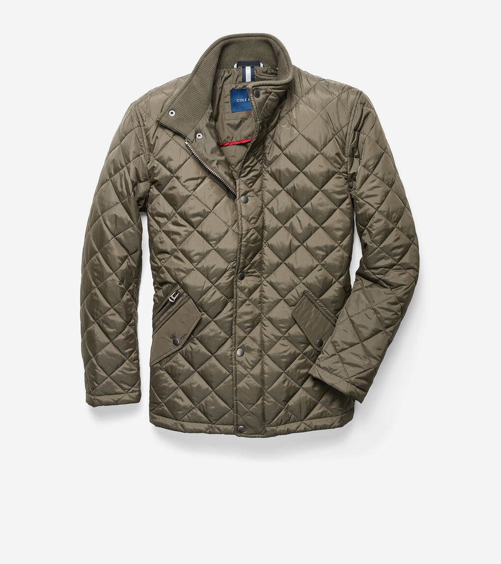 MENS Quilted Barn Jacket