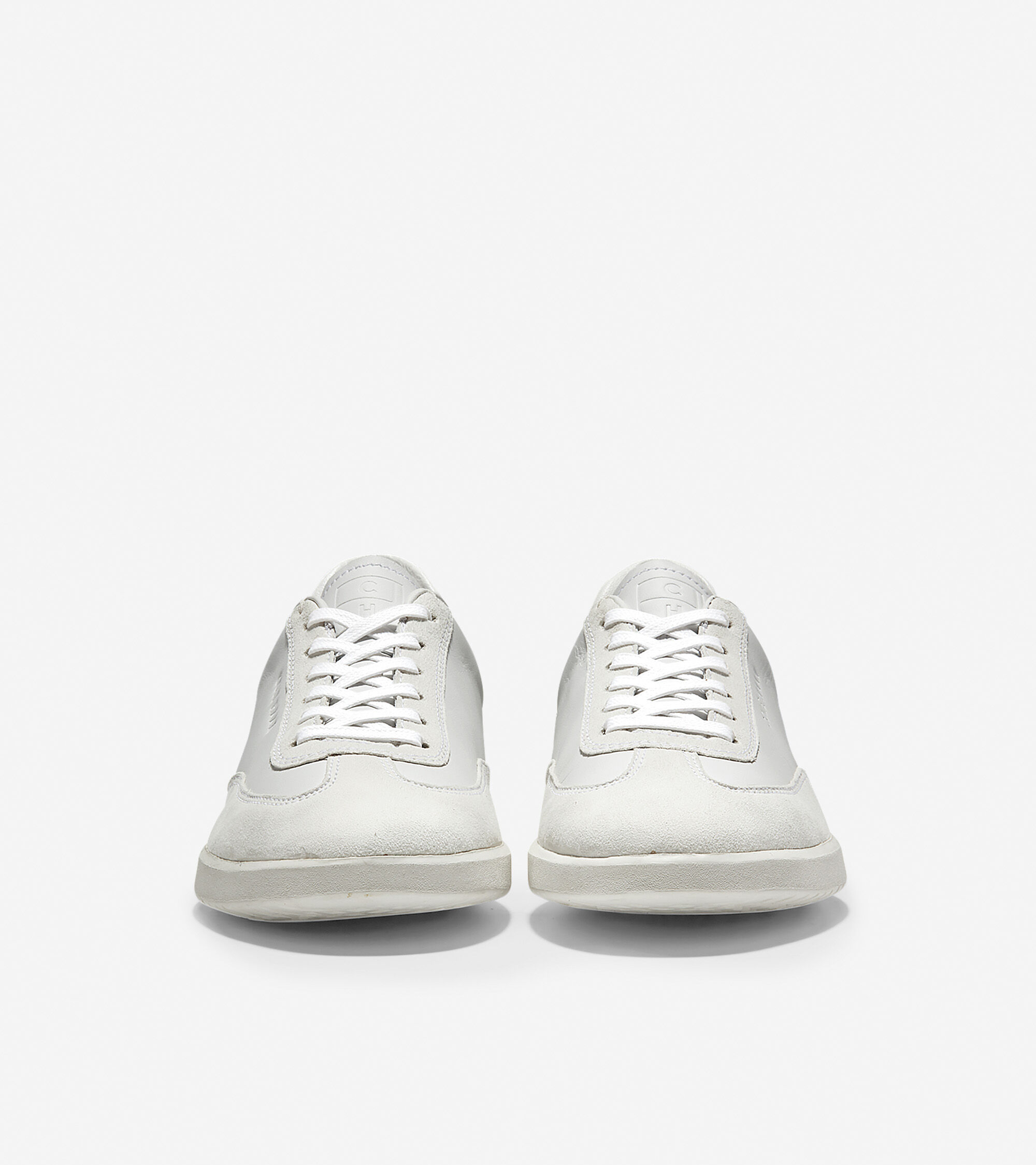 Turf LS Sneaker in Optic White Leather