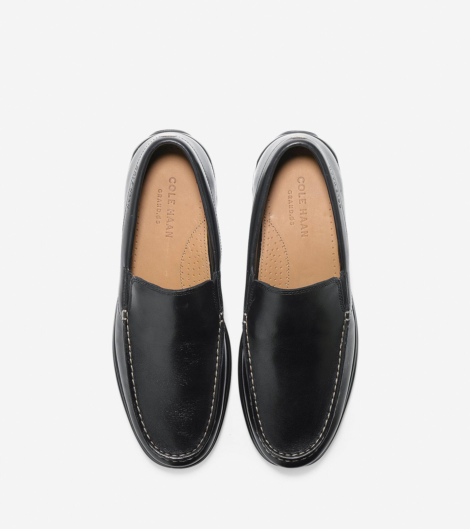 0dde1046eb5 Men s Santa Barbara Twin Gore Loafers in Black