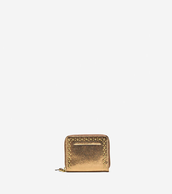 Bags & Outerwear > Marli Glitter Small Zip Wallet