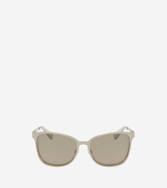 Accessories & Outerwear > Metal Butterfly Sunglasses