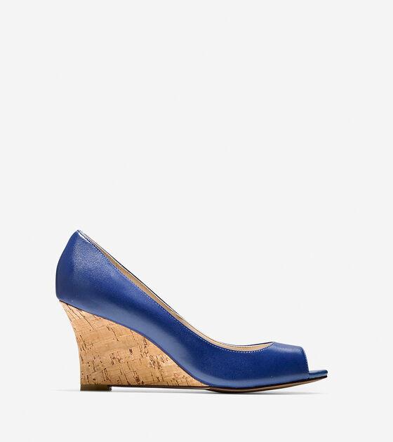 Shoes > Lena Open Toe Wedge (75mm)