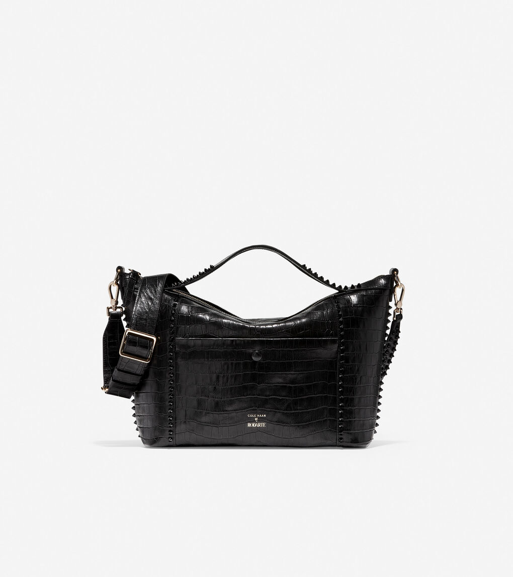 Womens Cole Haan x Rodarte Soft Satchel
