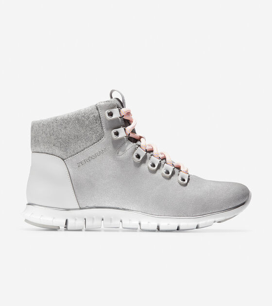c707a7ab54 Women's ZEROGRAND Hiker Boots in Argento | Cole Haan