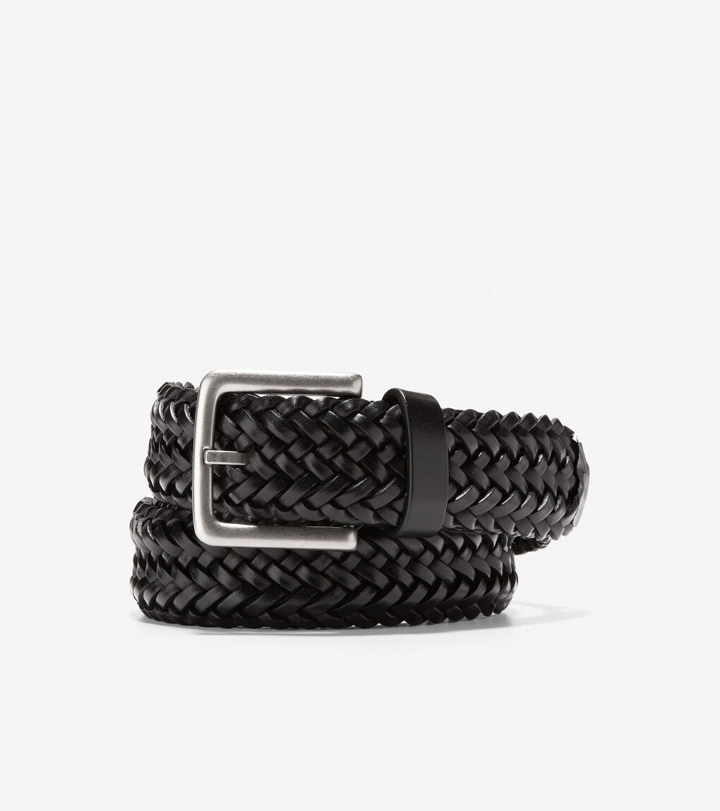 Mens Braided 35mm Belt