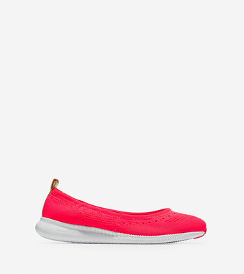 Women's 2.ZERØGRAND Ballet Flat with Stitchlite™