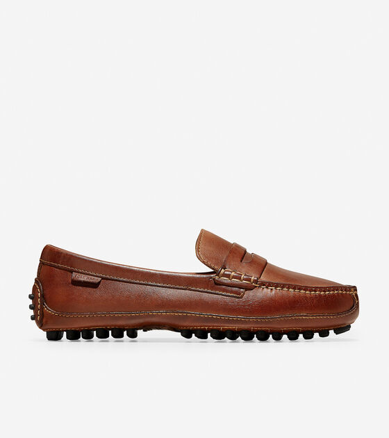 1d2d3a70d68 Grant Canoe Penny Loafers in Papaya   Mens Shoes