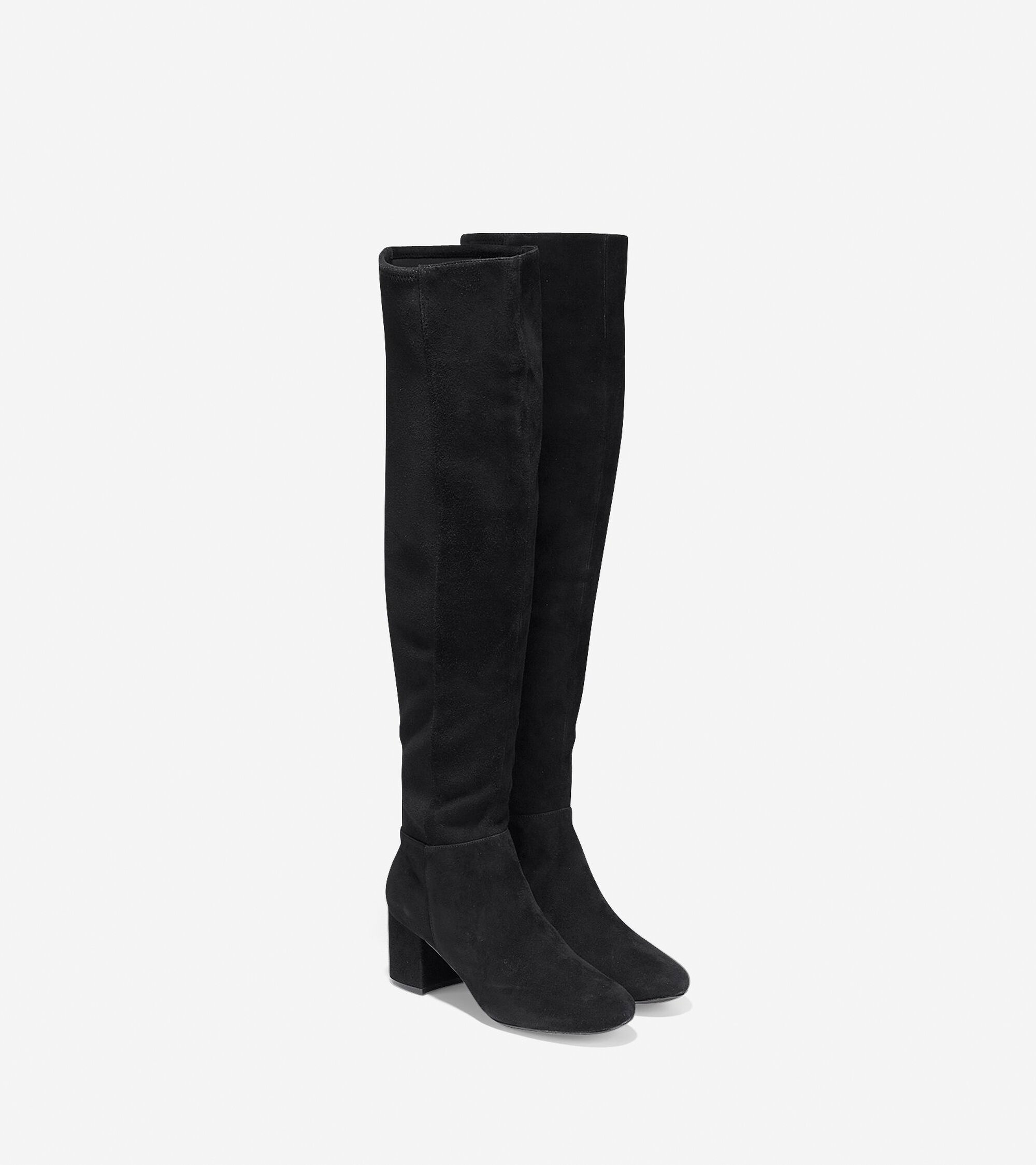 5bdbf5f83f2 Women s Elnora Over The Knee Boots 60mm in Black