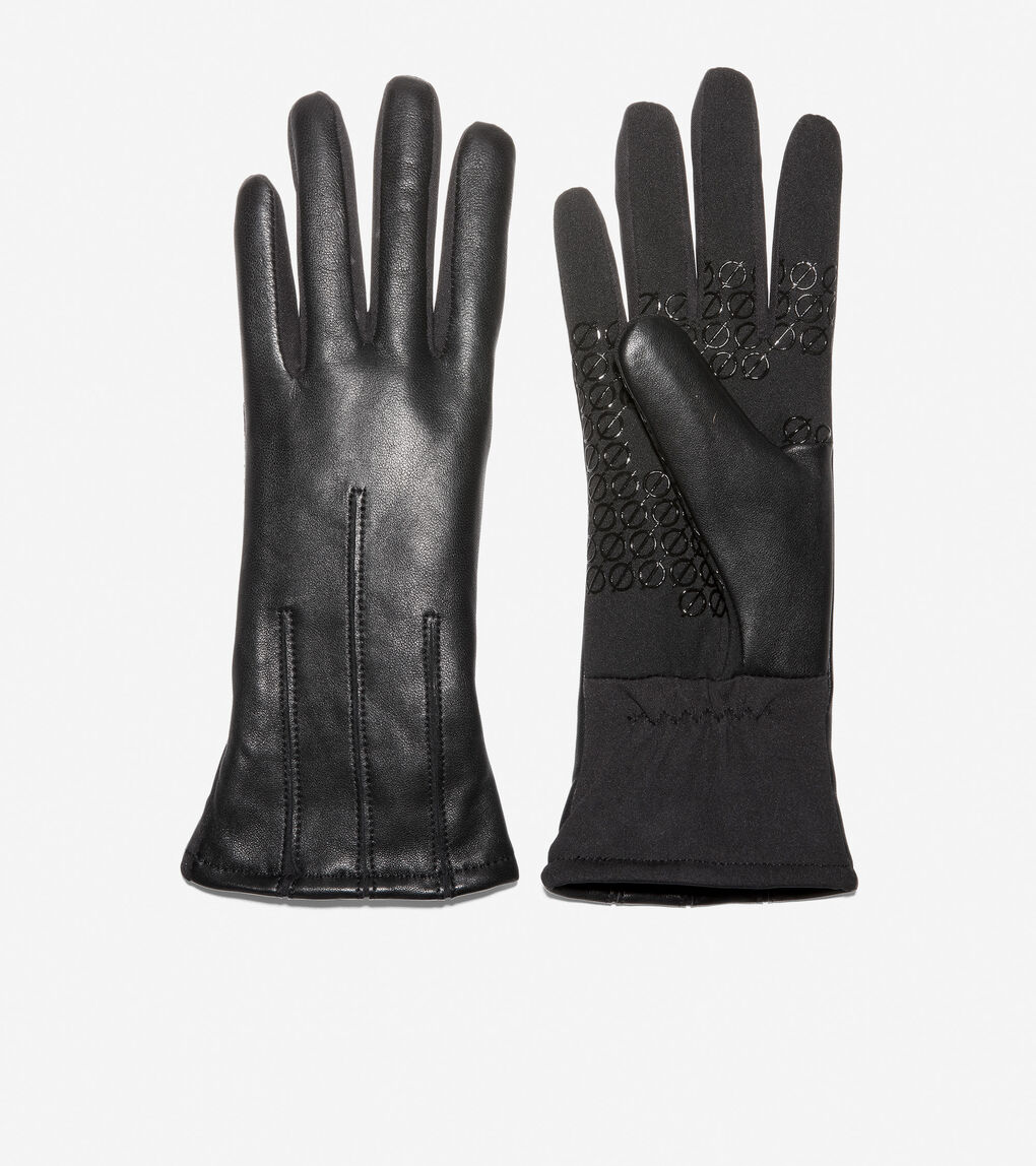 Womens ZERØGRAND Leather Glove