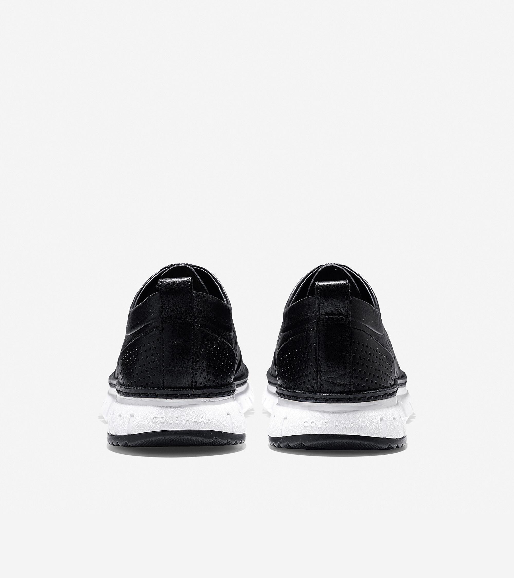 Perforated Sneaker in Black