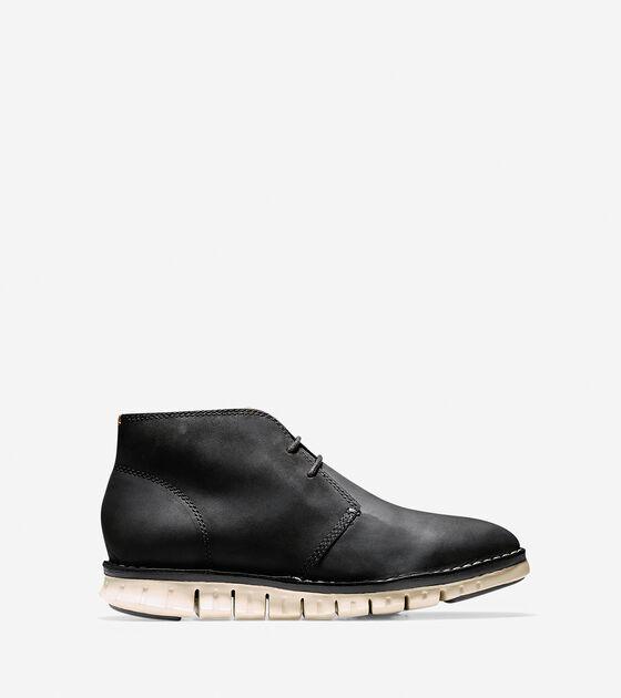 Boots > Men's ZERØGRAND Stitch Out Chukka