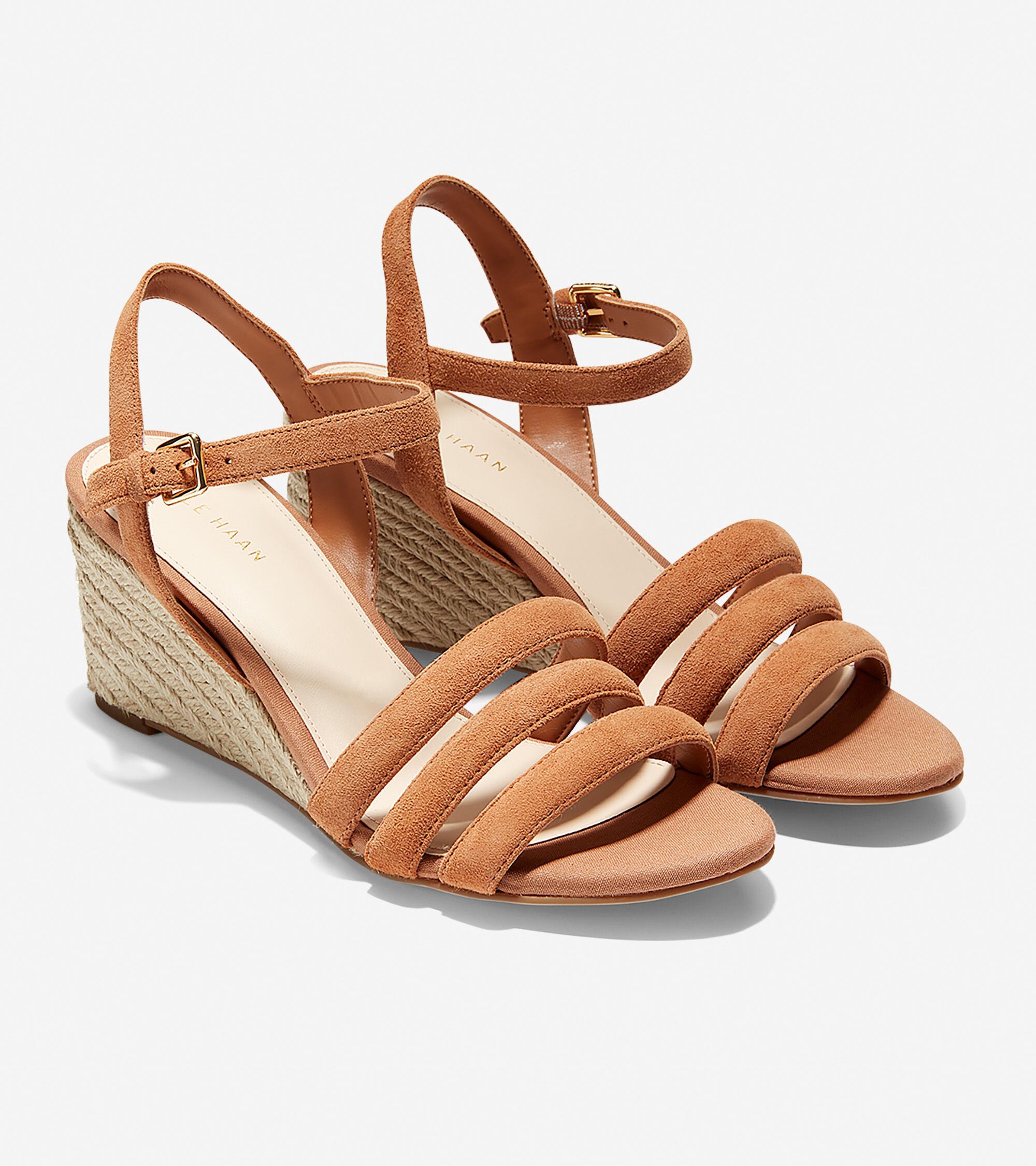 Jasmine Espadrille Wedge Sandal (60mm