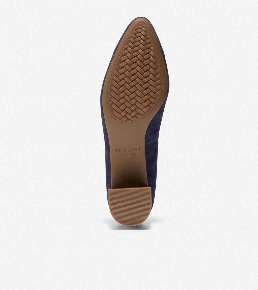 Womens The Go-To Block Heel Pump
