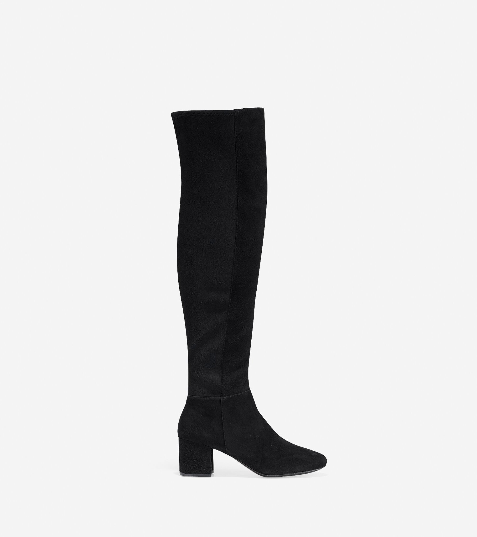 d9128b117f57 Women s Elnora Over The Knee Boots 60mm in Black