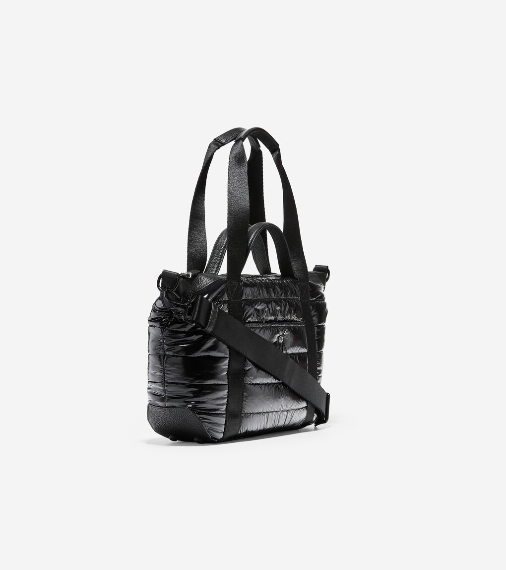 WOMENS Quilted Nylon Small Duffle