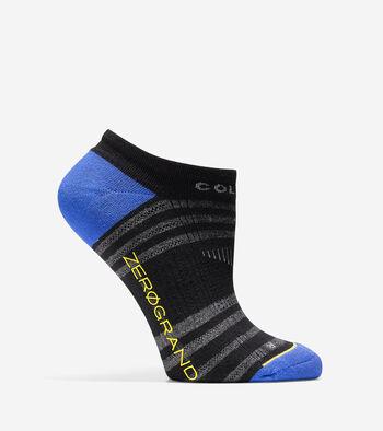 ZERØGRAND Stripe Low Cut Socks