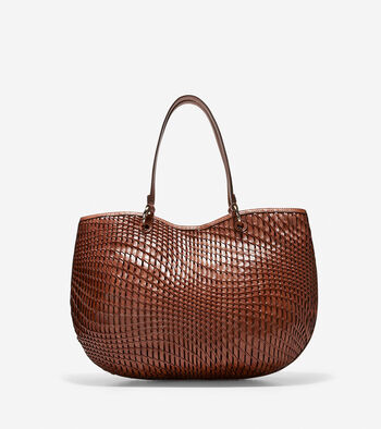 Genevieve Open Weave Tote