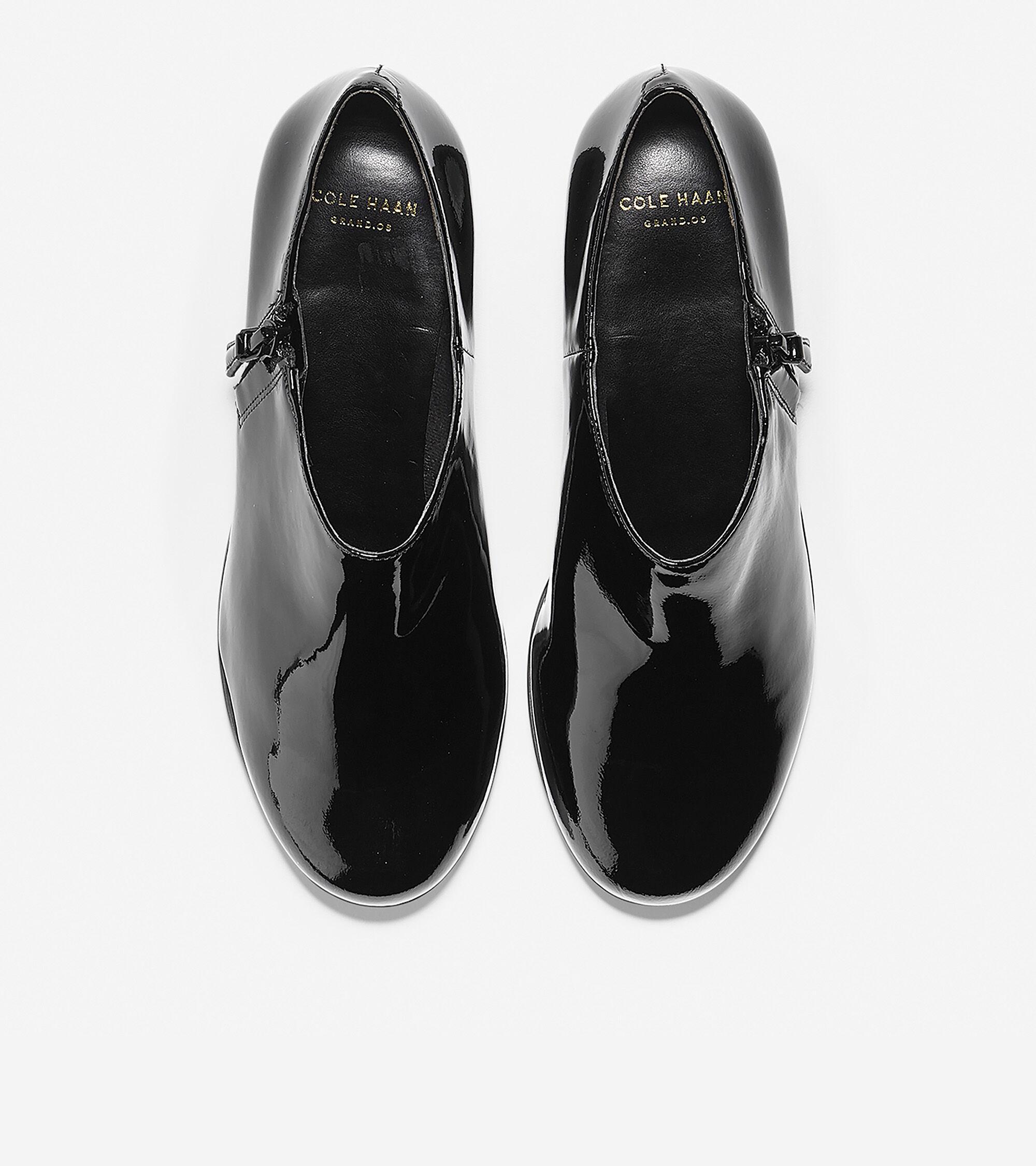352b12991f3 Callie Rain Shoes (30mm) in Black Waterproof Patent