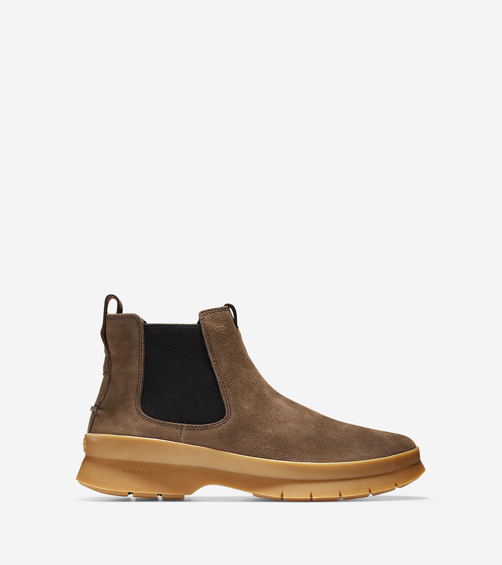 Mens Pinch Utility Chelsea Boot