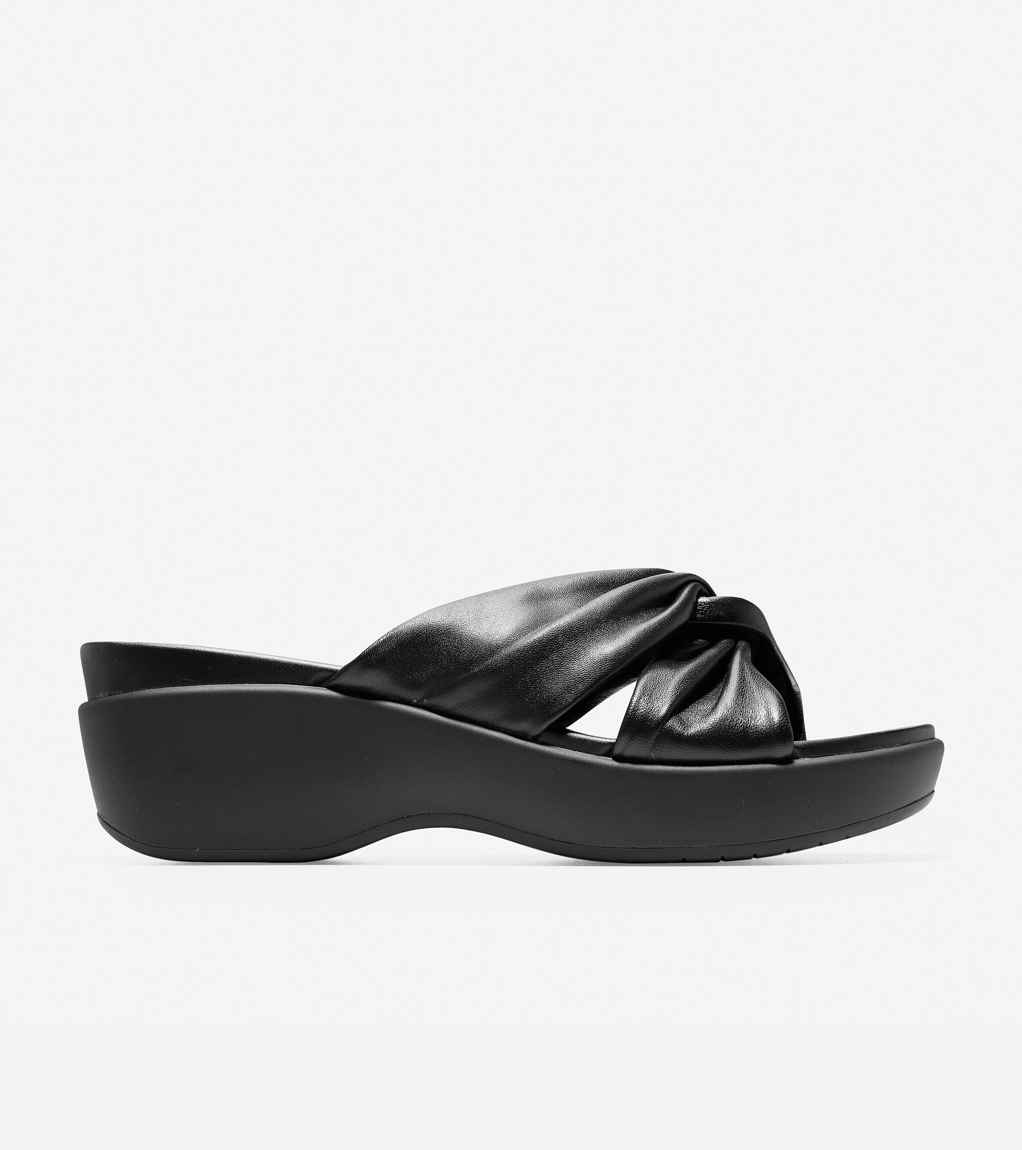Cole Haan Women's Aubree Grand Knotted Slide Sandal