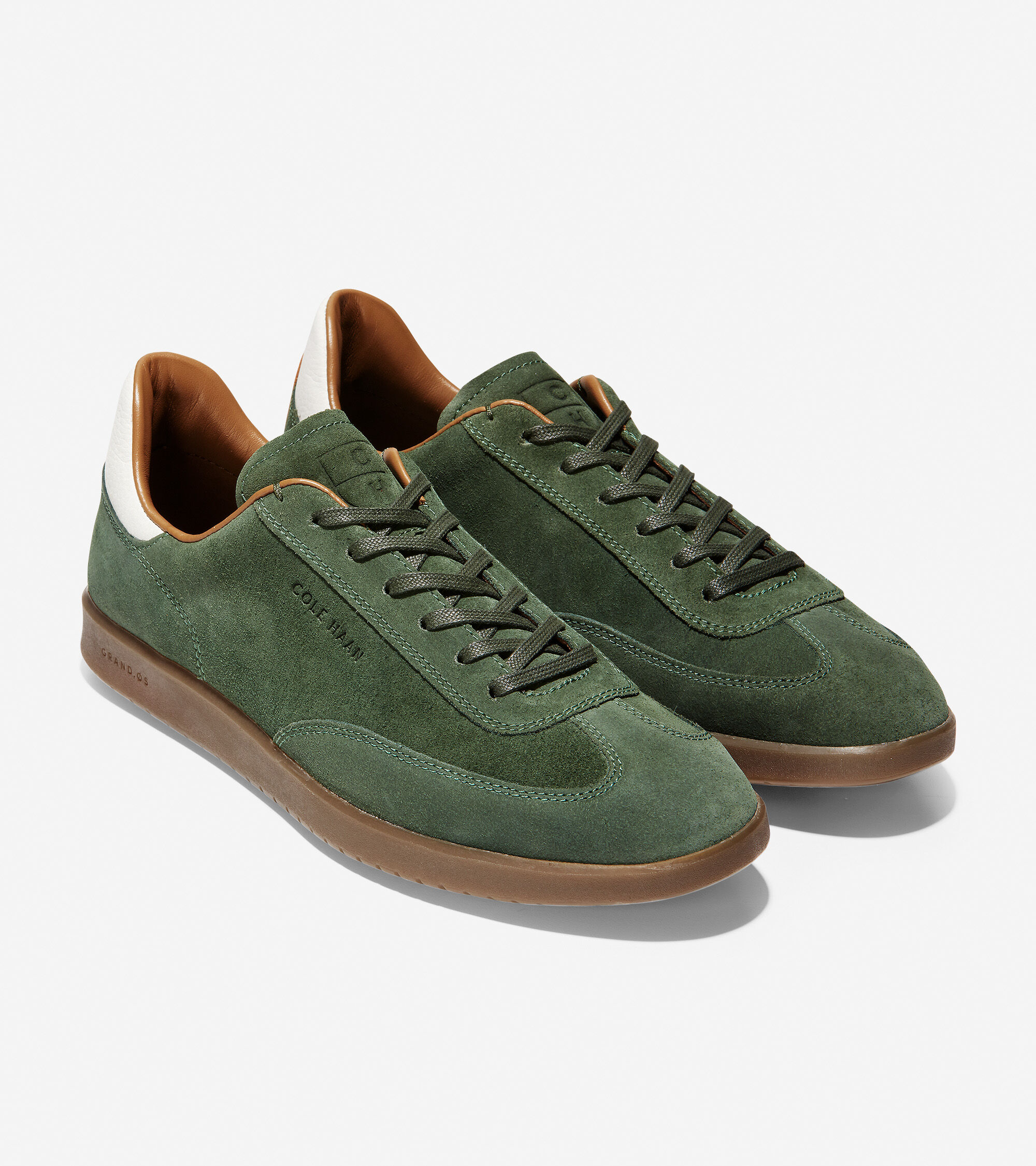 Olive Green Suede   Cole Haan