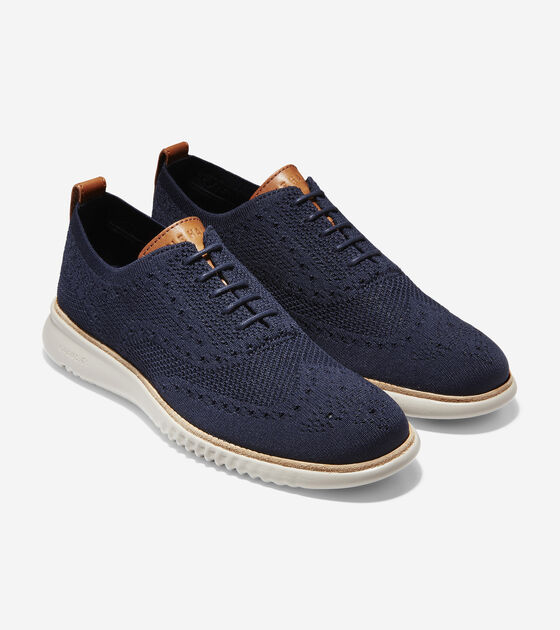 Mens 2.ZERØGRAND Oxford with Stitchlite™