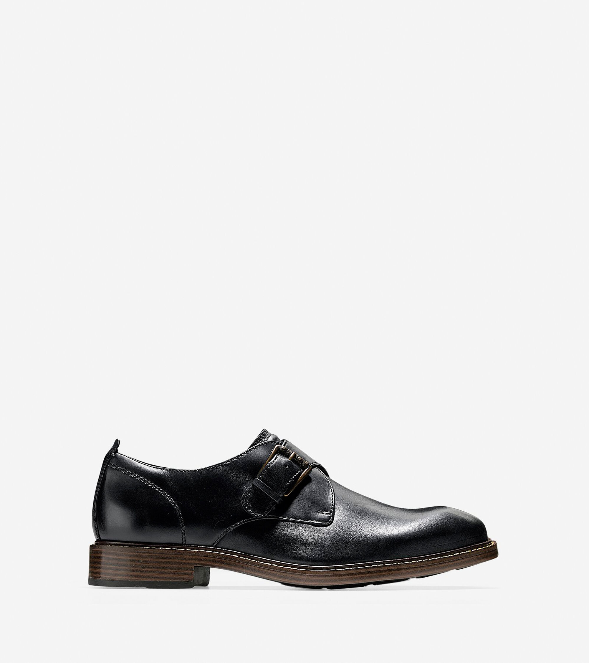 ce94fafb049a Men s Kennedy Single Monk Oxfords in Black