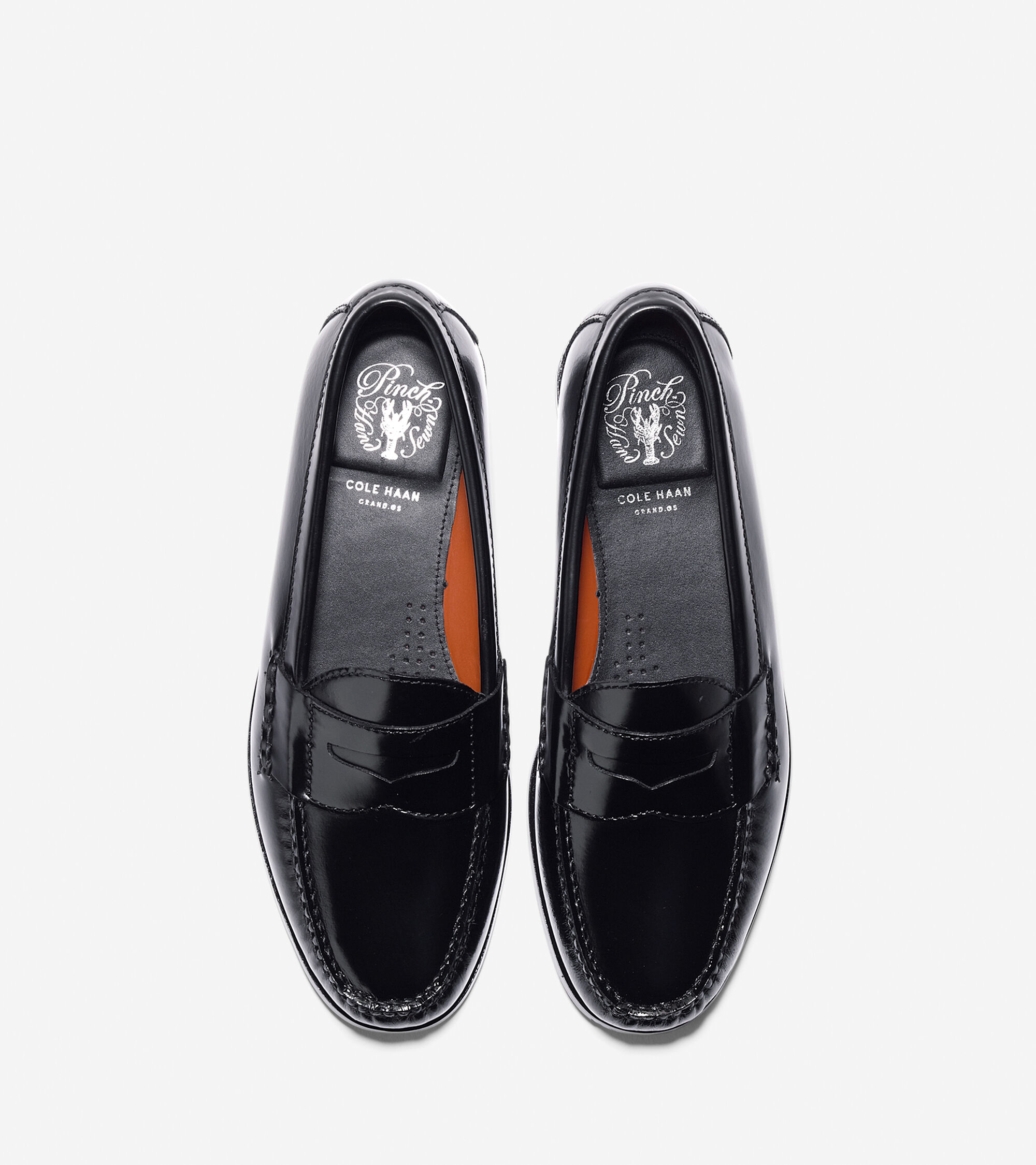453a14fbb3d Men s Pinch Grand Penny Loafers in Black