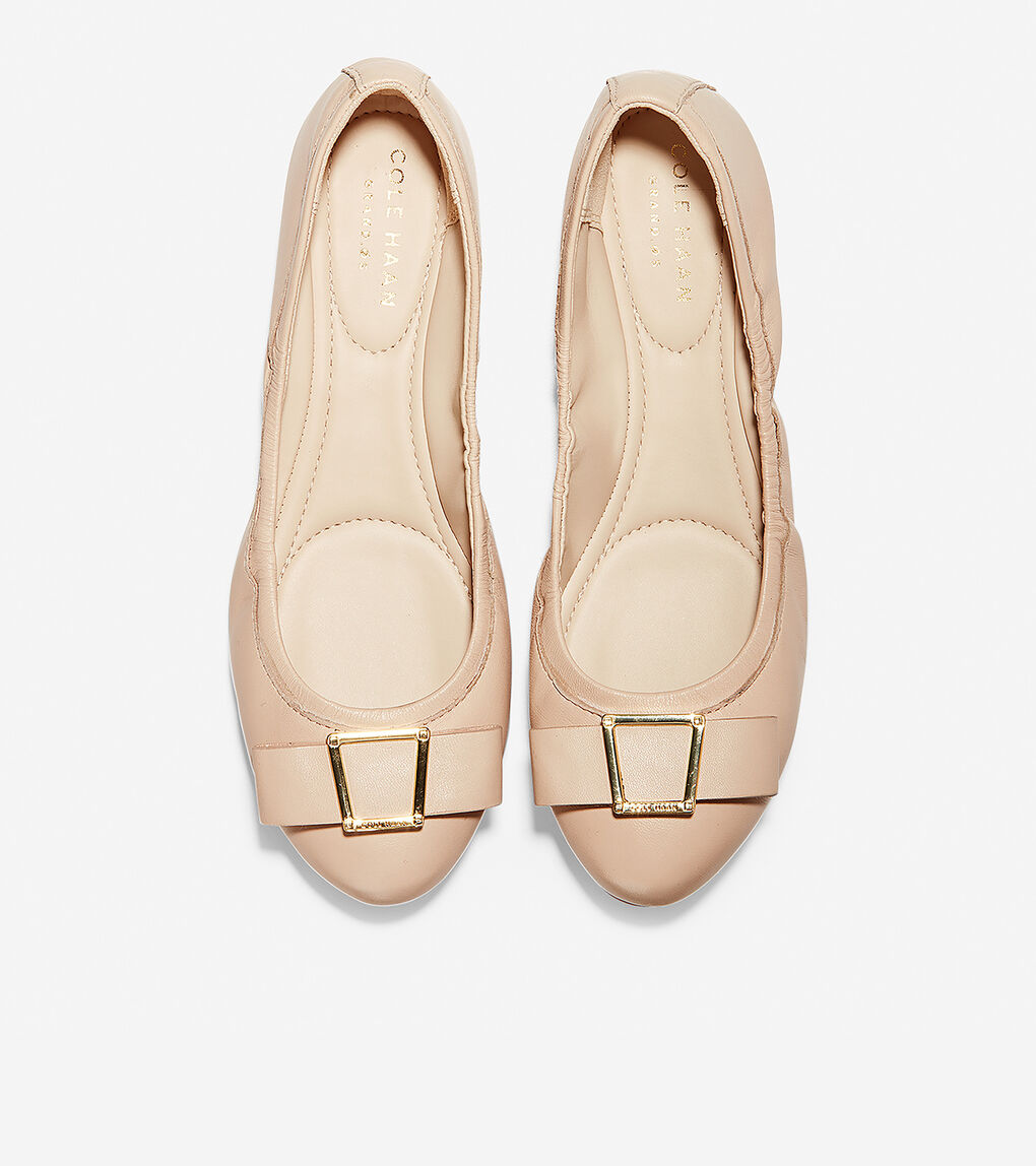 Womens Emory Bow Ballet Flat