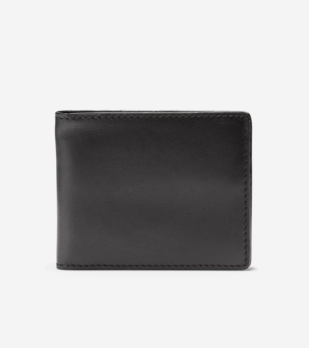 Mens GRANDSERIES Leather Slim Bifold
