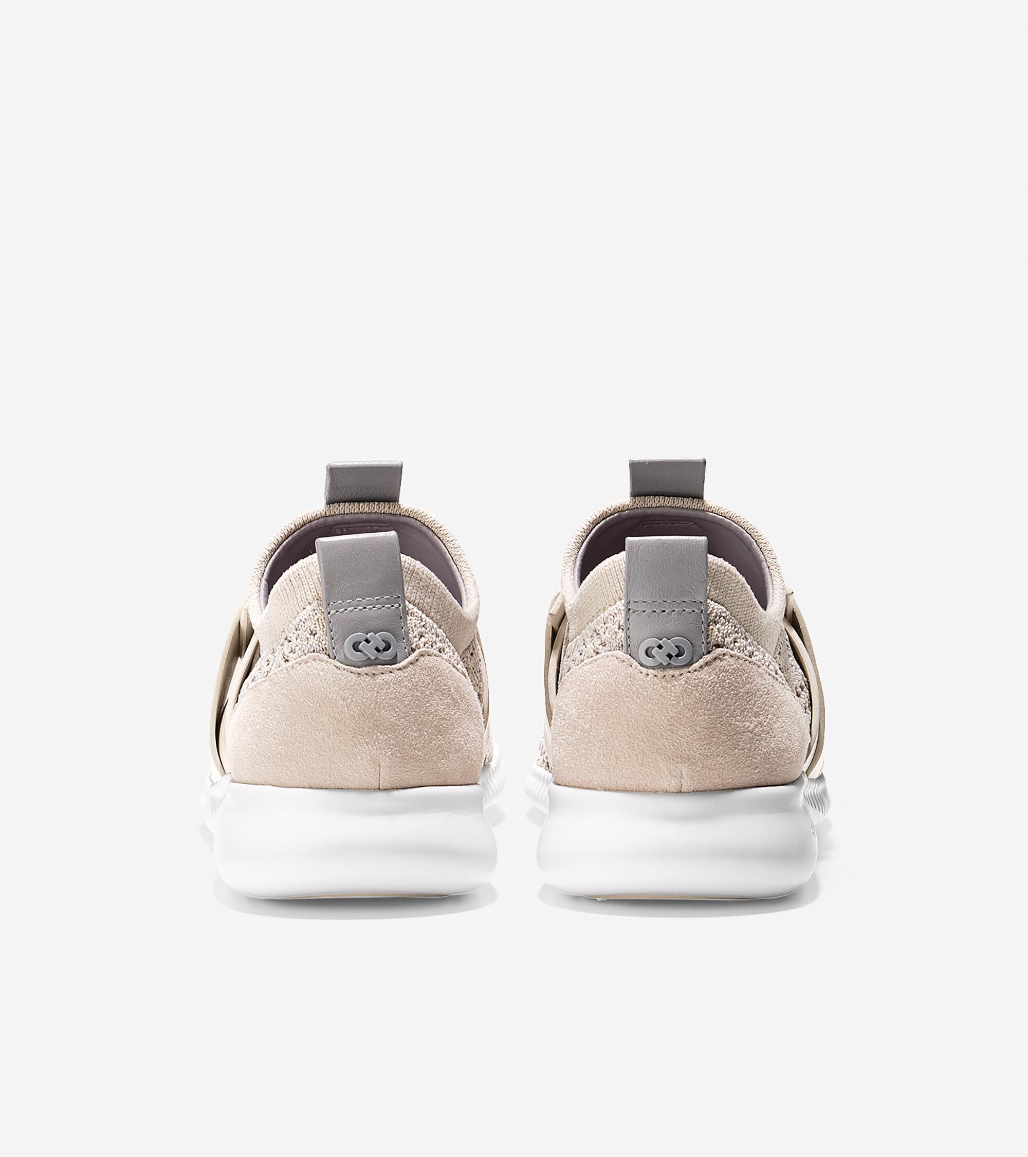ba8344ddd64 Women s StudioGrand Knit Sneakers in Rainy Day-Silver