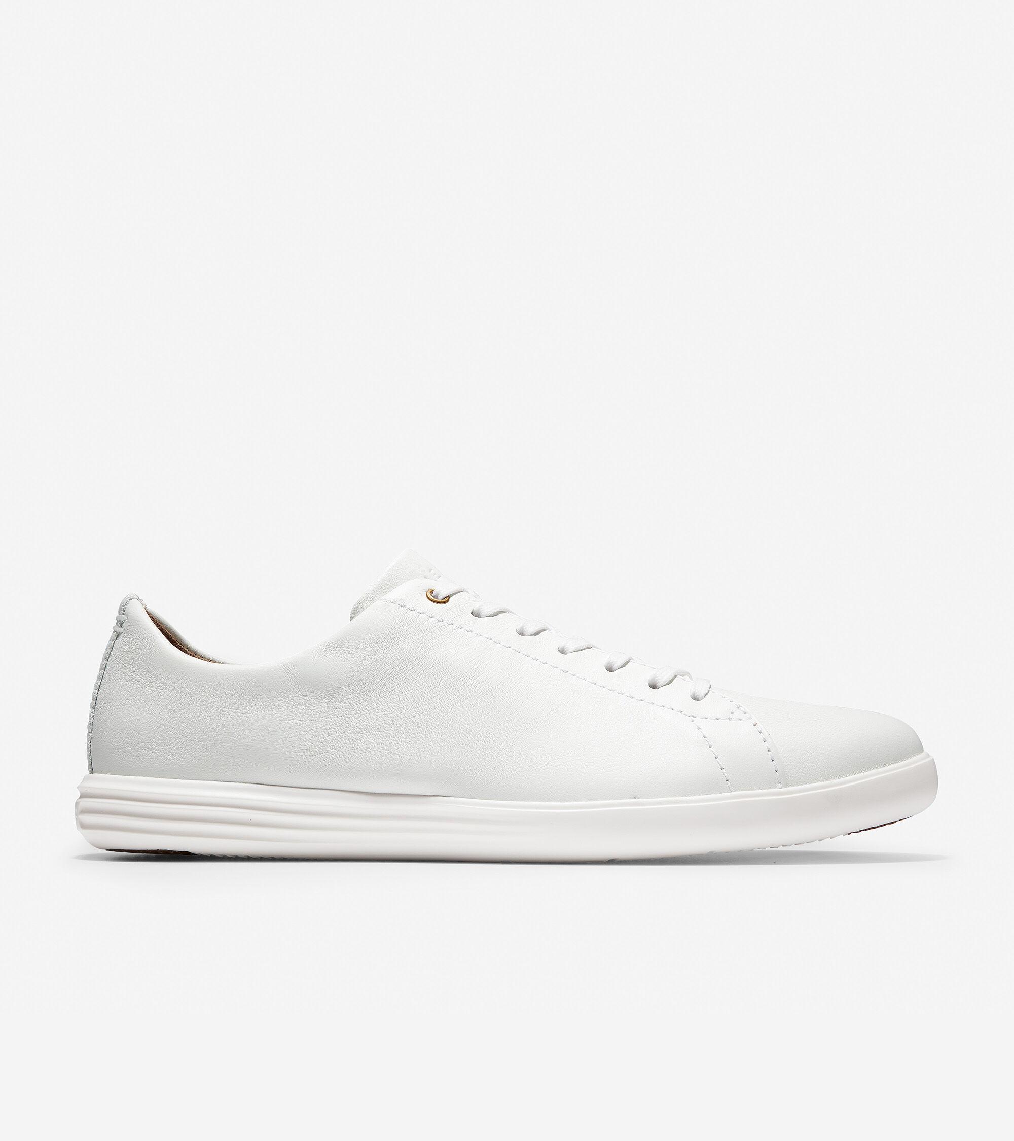 Men's Grand Crosscourt Sneaker in White
