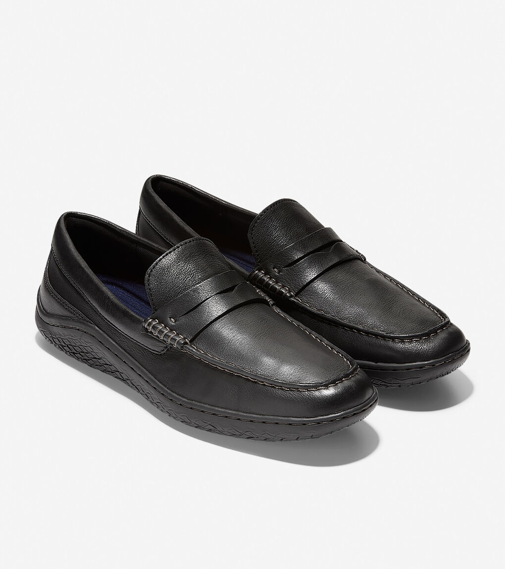 Mens MøtoGrand Traveler Moc Penny Loafer