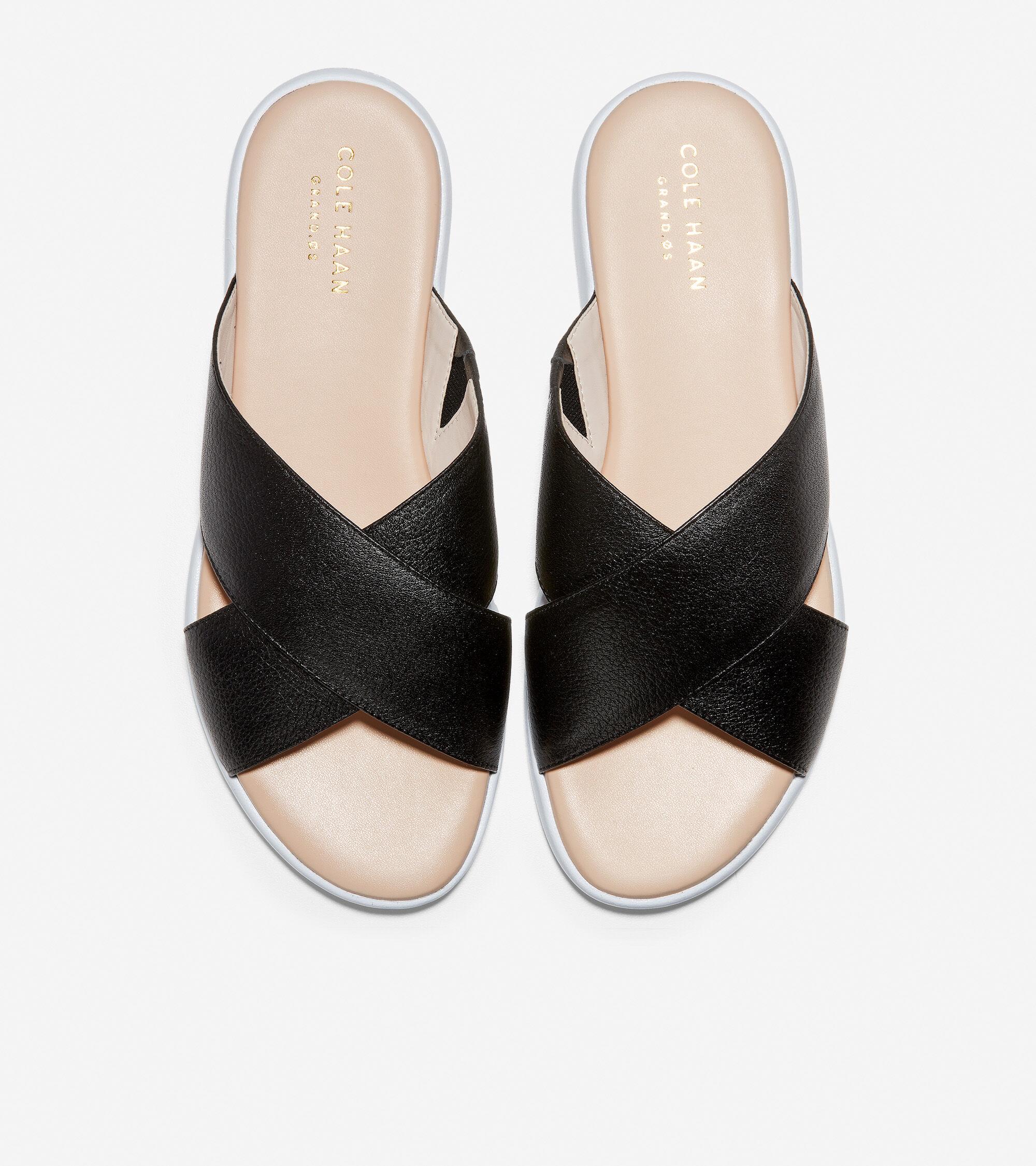 Criss Cross Slide Sandal