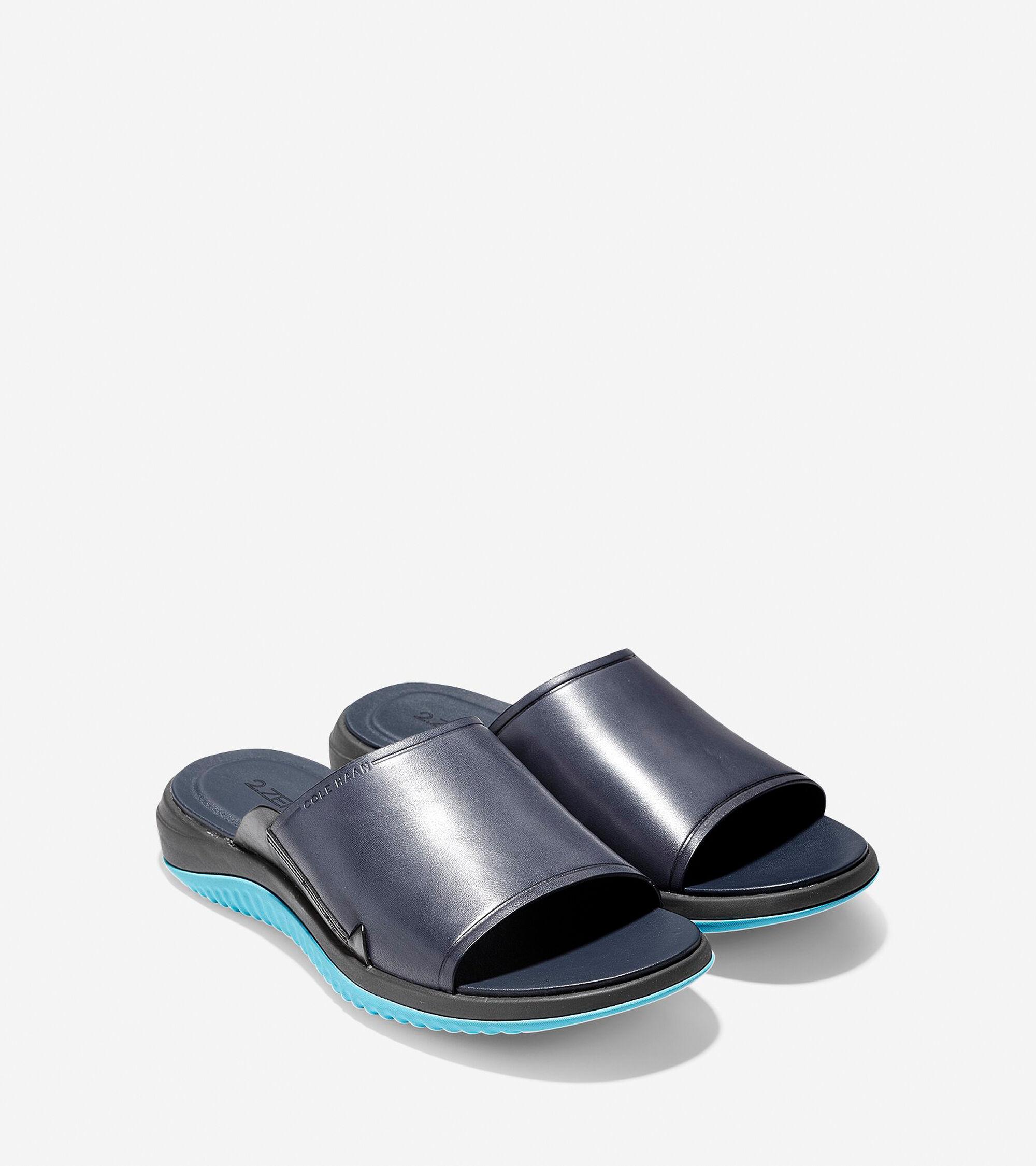 7497b4e1376c Men s 2.ZEROGRAND Slide Sandals in Marine Blue