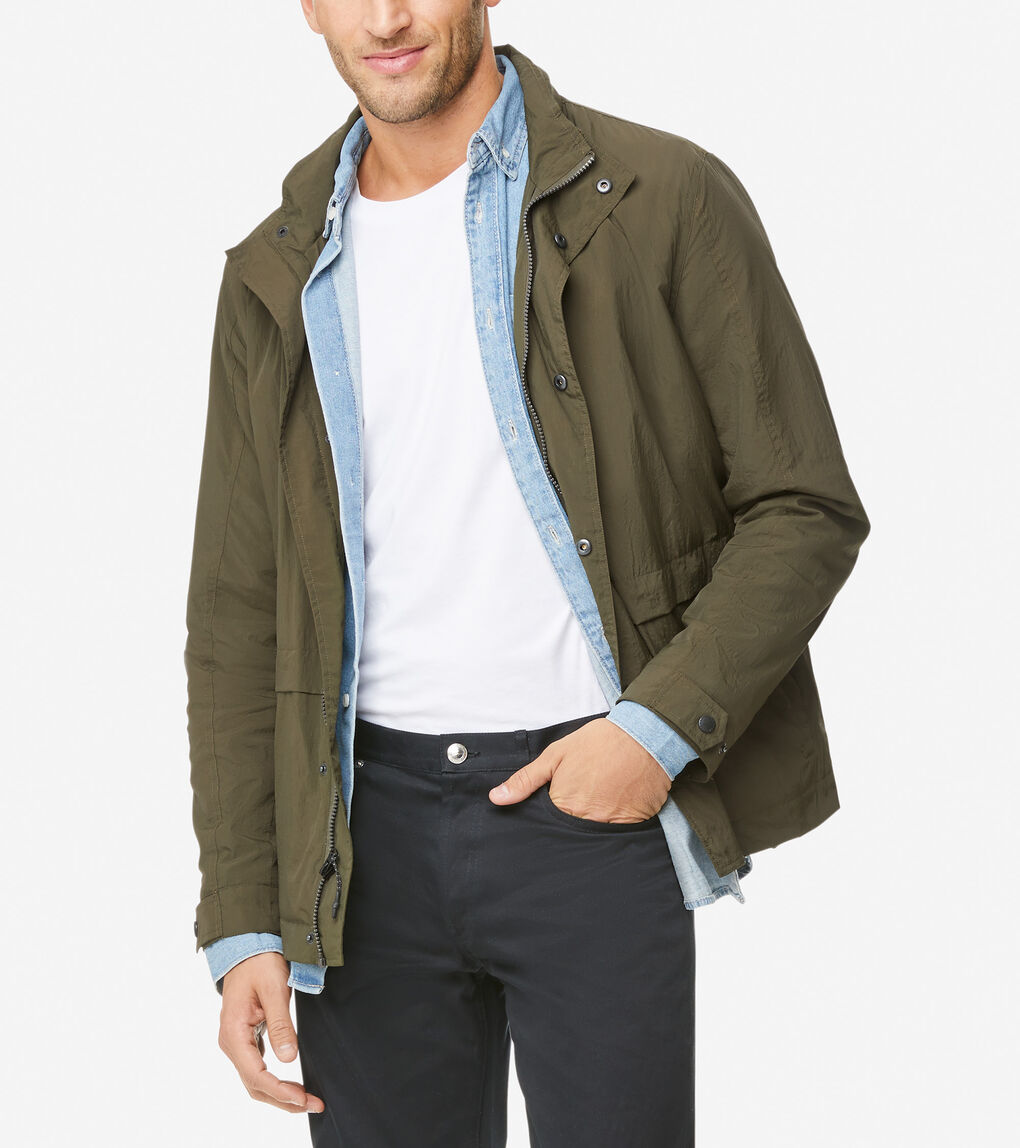 MENS Packable Rain Jacket