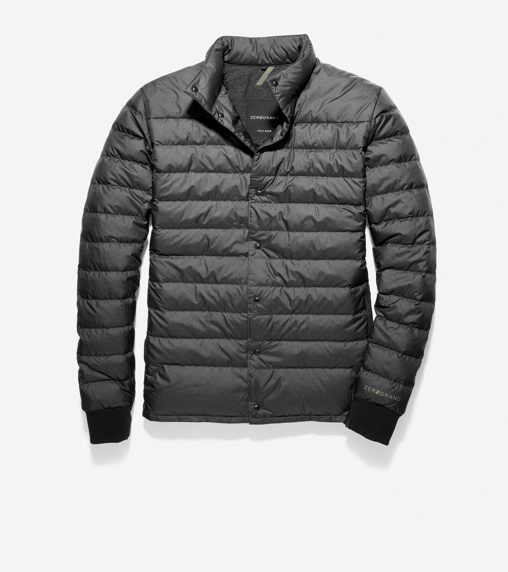 Mens ZERØGRAND Insulated Short Jacket