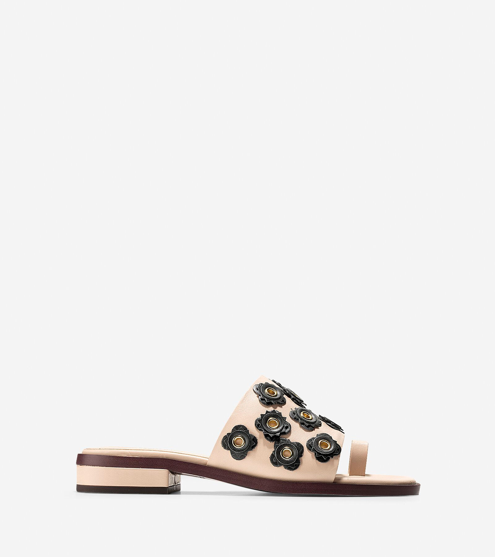 Cole Haan Carly Floral Leather Sandal bMzfA1KW
