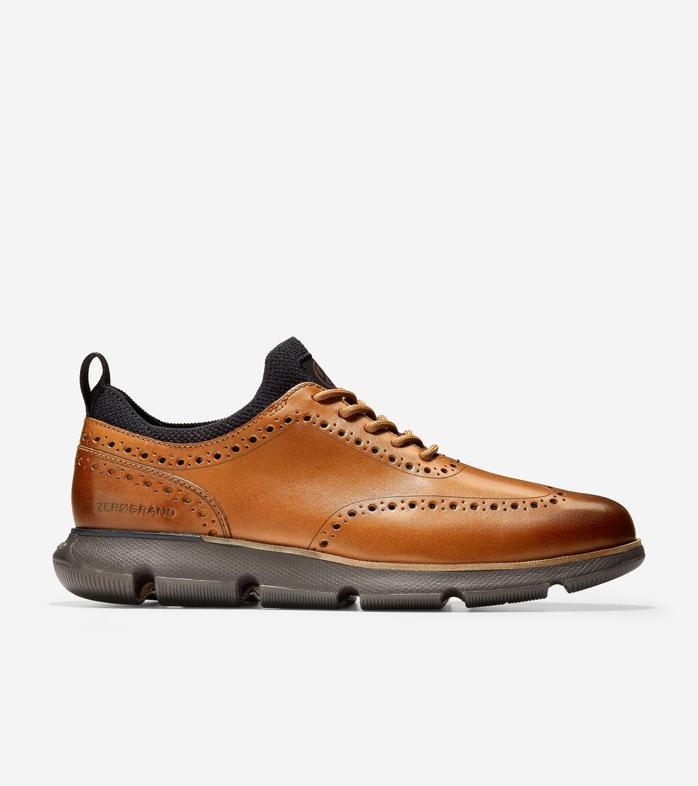 MENS 4.ZERØGRAND Wingtip Oxford