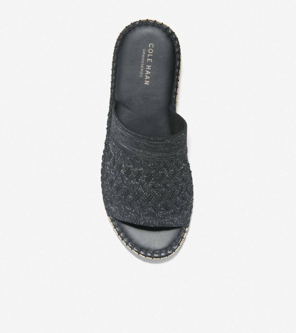 WOMENS Cloudfeel Espadrille Slide Sandal