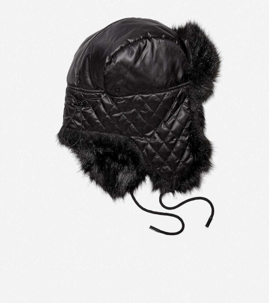 Womens ZERØGRAND Trapper Hat