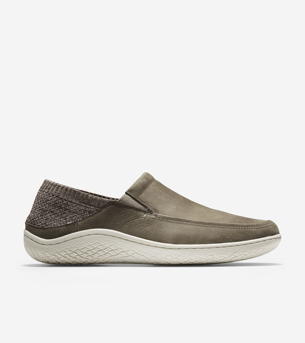 Mens MøtoGrand Traveler Moc Slip-On