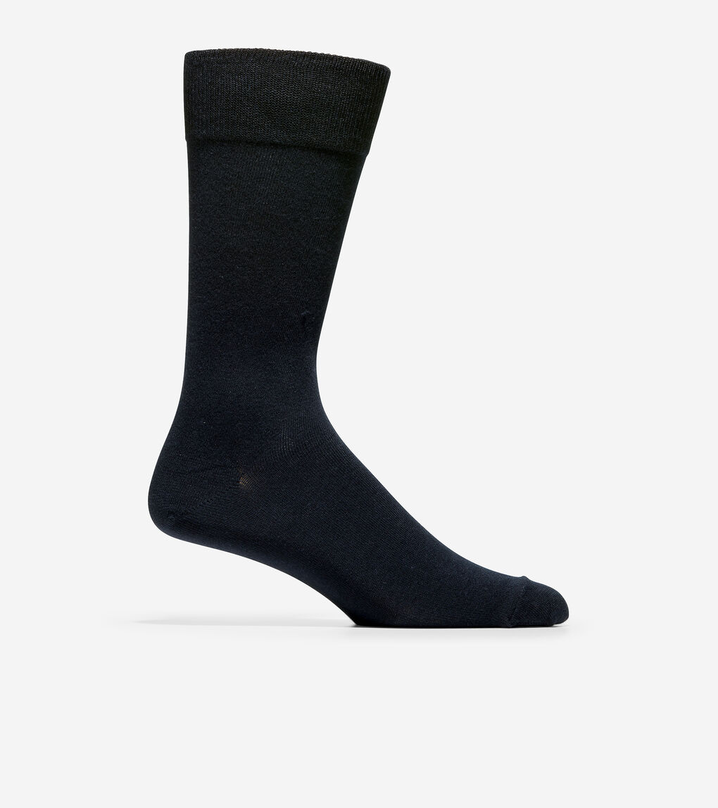 MENS 3-Pair Diamond Neat Crew Socks