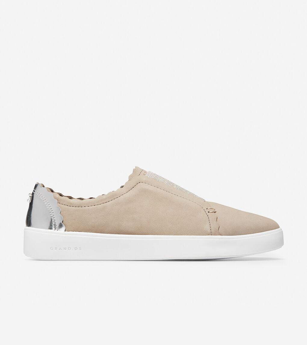 e9f98fdbb03 Womens Grand Crosscourt Scallop Slip-On Sneaker