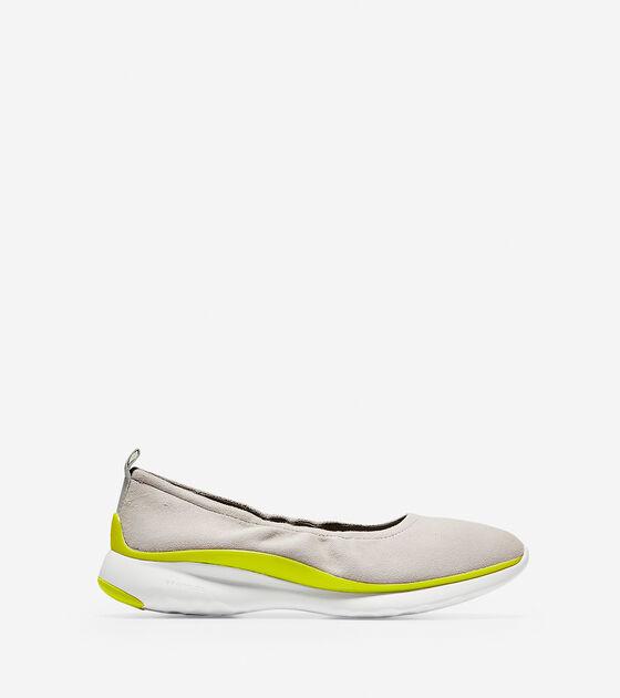 Flats & Skimmers > Women's 3.ZERØGRAND Ruched Slip-On Ballet Flat