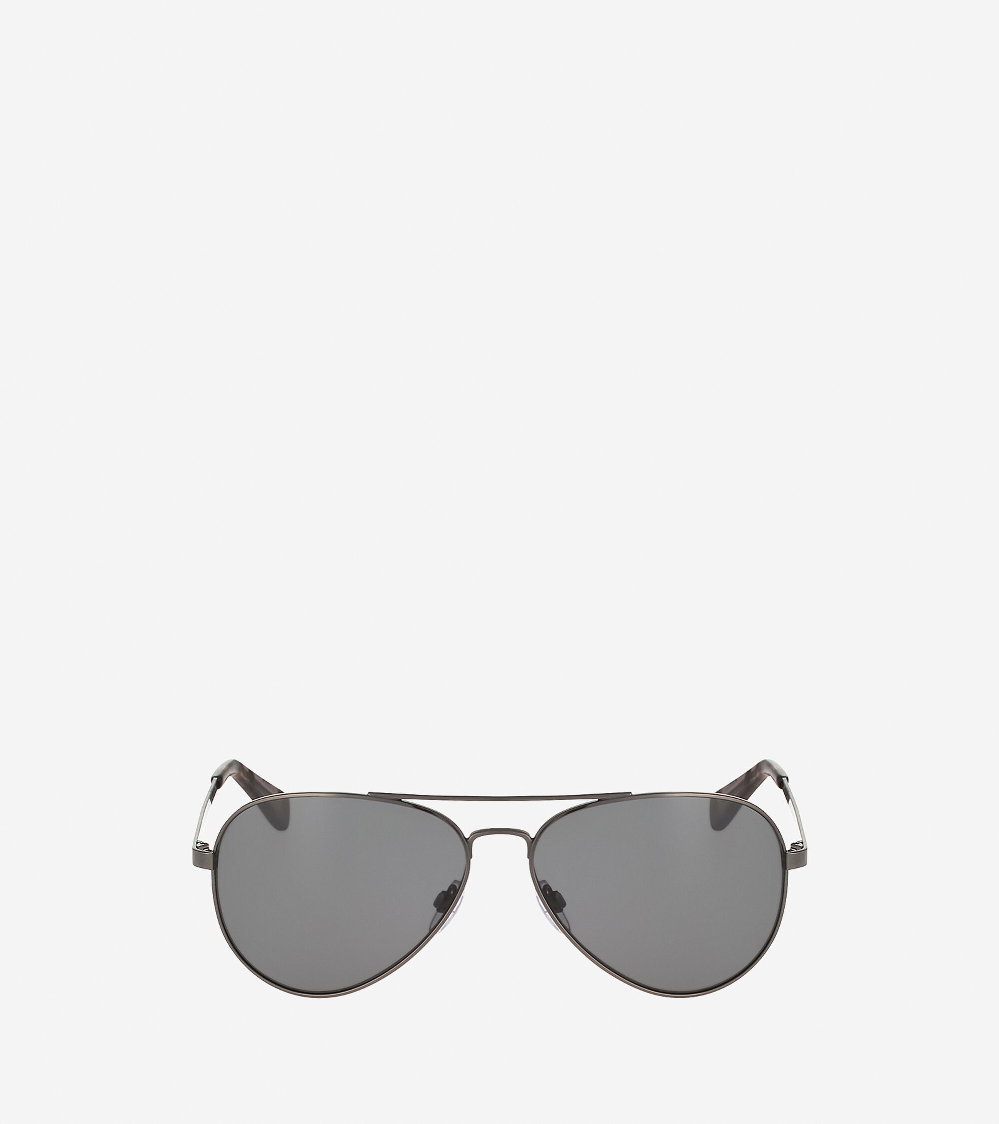 047d0128a3 Mens Metal Aviator Sunglasses in Dark Gunmetal