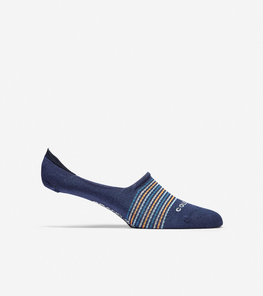 Mens Grand.ØS Multi-Stripe Sock Liner