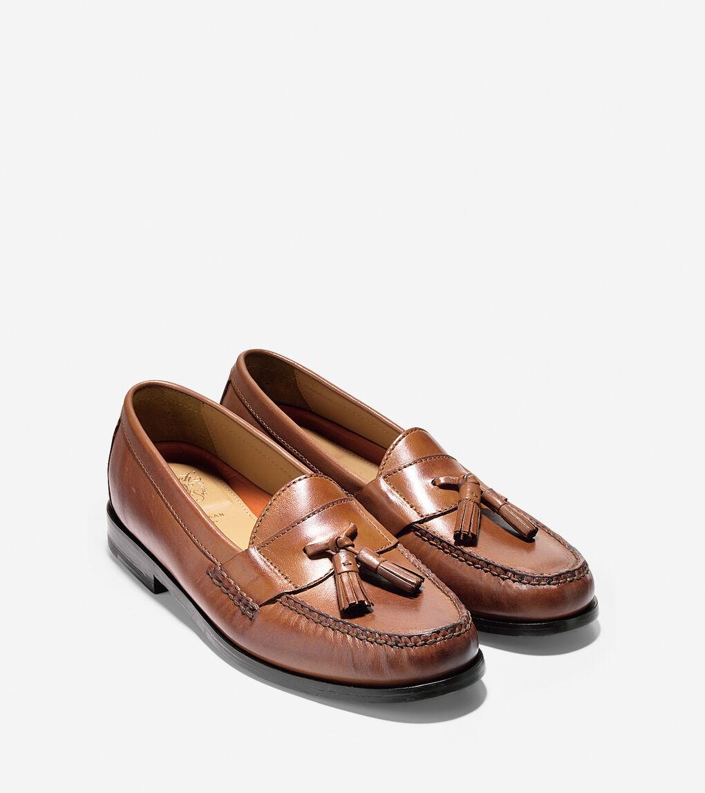 c482006818 Men's Pinch Grand Tassel Loafer in Papaya | Cole Haan US