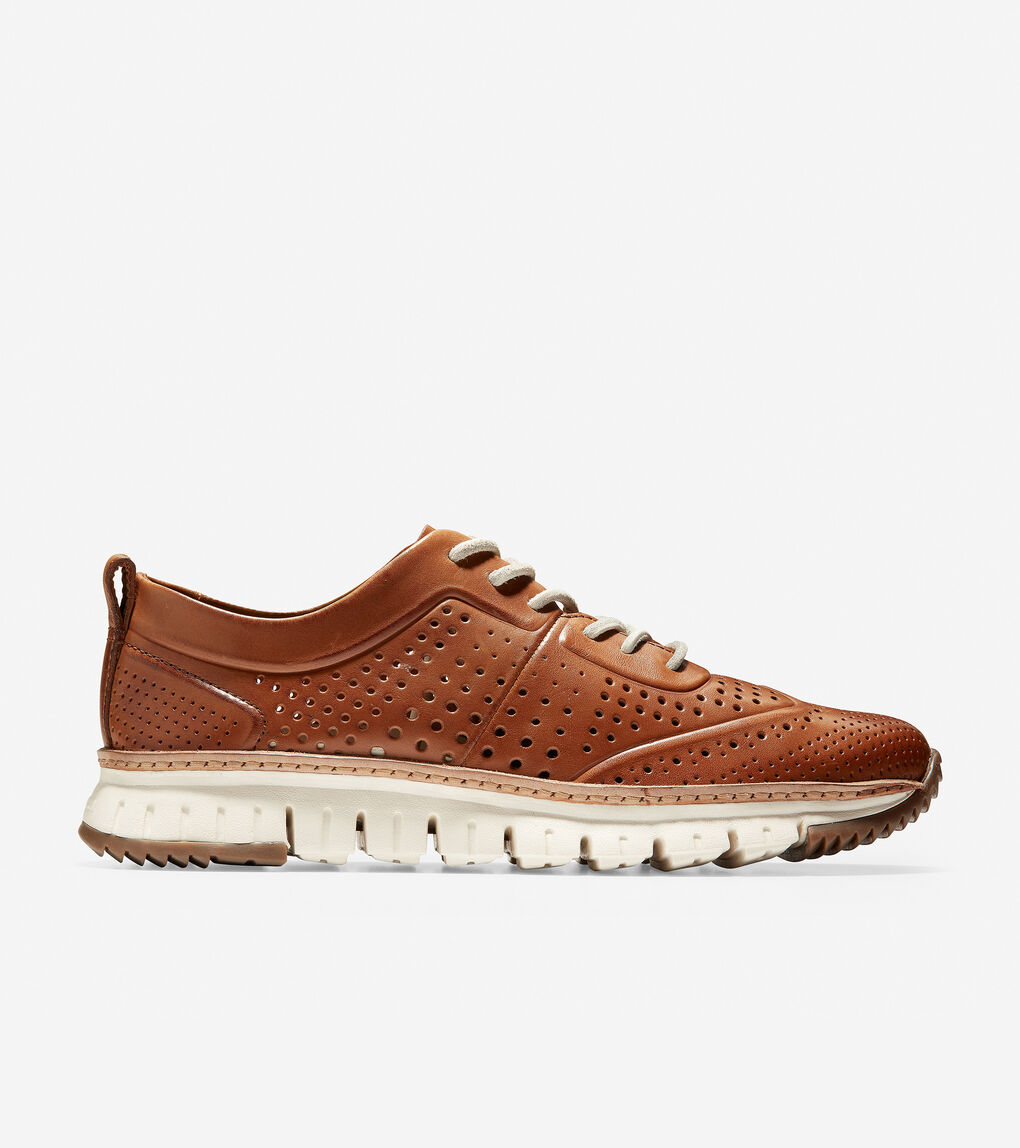 Mens ZERØGRAND Perforated Sneaker